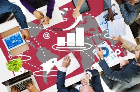 Marketing Strategy Branding Concept