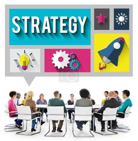 Strategy Start up Creativity Concept