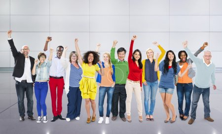 Diversity People Celebration Success