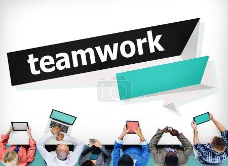 Team Teamwork Collaboration Concept