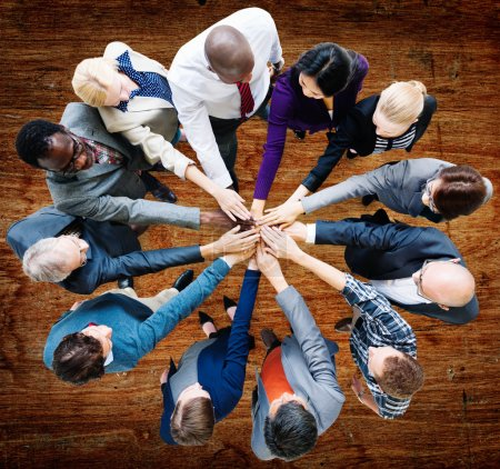 Business People and Cooperation Concept