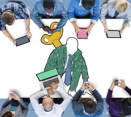 Startup Business Activation Concept