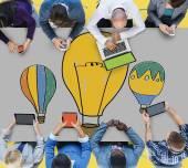 Hot Air Balloons Ideas Concept