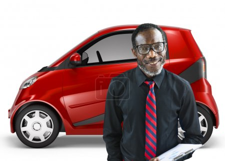 Car or Vehicle, Transportation Concept