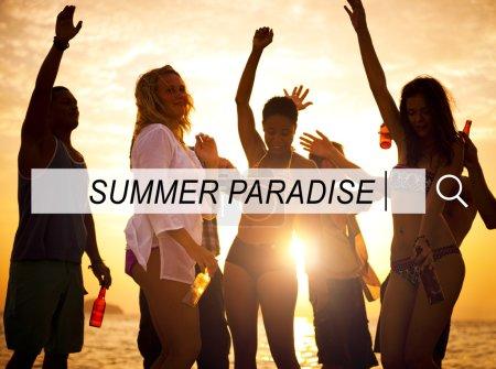 Summer Paradise Concept