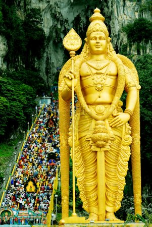 Lord Muruga statue in Batu Caves