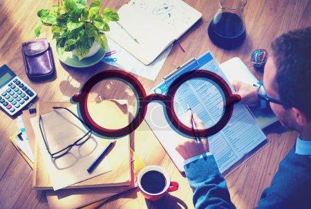 Eyeglasses Icon Concept