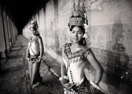 Traditional Aspara Dancers