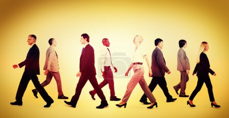 Business People Walking Concept