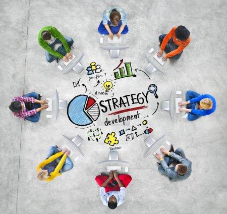 Strategy Development Business Concept