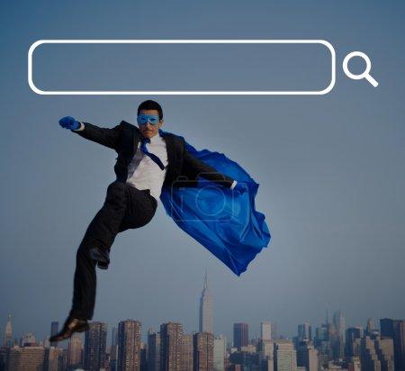 Search Box and Internet Concept