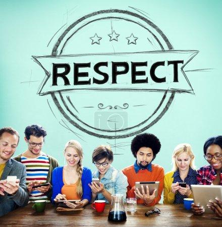 Respect Honesty Concept