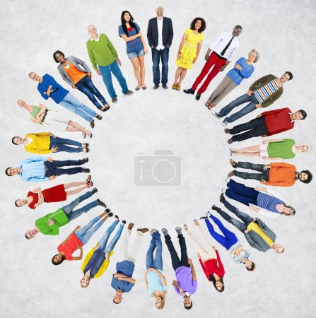 Diverse People and Friendship Togetherness Concept