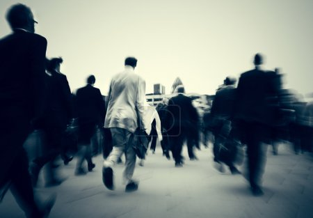 Business People Rush Hour Concept