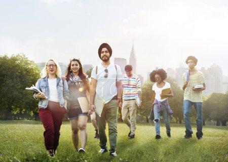 Friends, Friendship, Team Community Concept