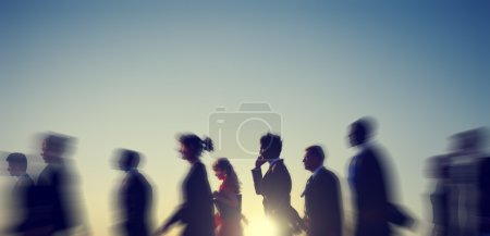 Business People, Rush Hour Concept