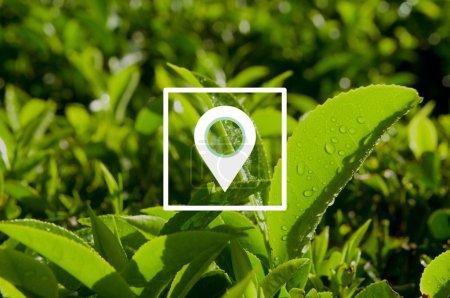 Location Navigation Destination Concept