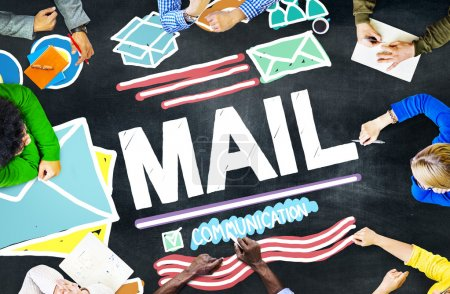Mail, Communication Concept