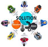 Koncept myšlenky strategie řešení