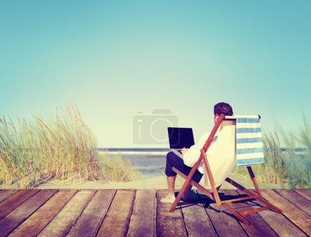 Businessman Working Concept