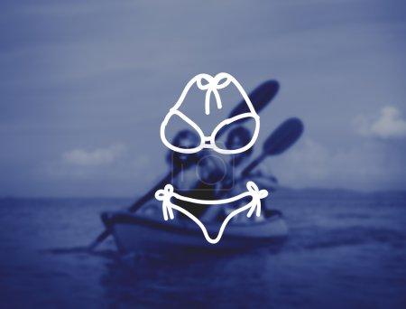 couple Kayaking, Adventure Concept