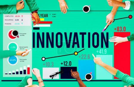 Diverse People and Innovation Concept