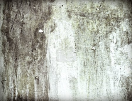 Concrete Wall Scratched Material