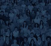 """Постер, картина, фотообои """"большая группа людей, разнообразия"""""""