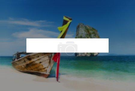 Été vacances vacances collage Concept