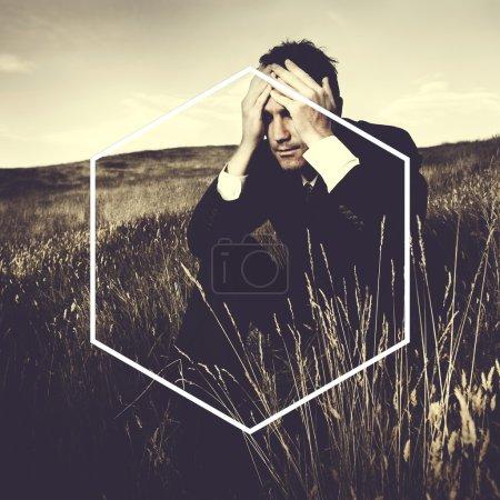 Hexagon Icon Frame