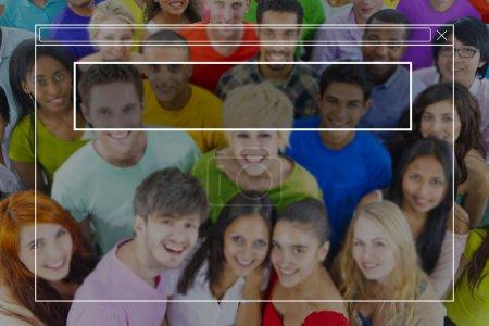 la diversité jeunes ensemble
