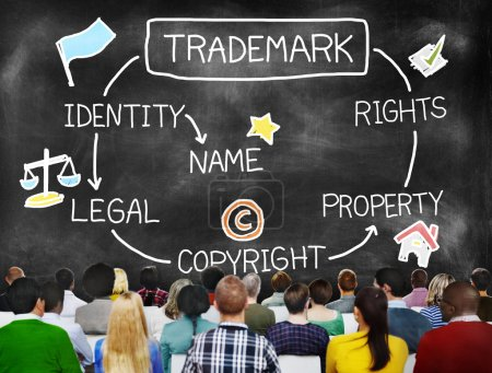 Diversity People and Trademark Concept