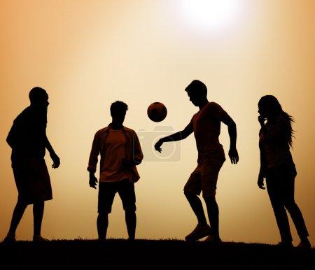 Team Active Sport Concept