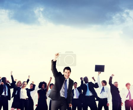 Business People Corporate Celebration Concept