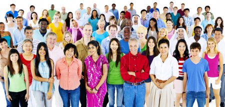 large group of Diversity people