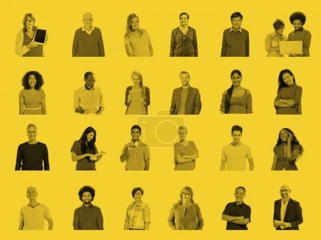 Diverse People and Global Communications Concept