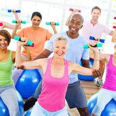 Fitness Training Concept