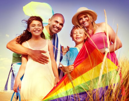 Cheerful Family, Bonding Concept