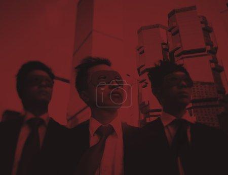 Businessmen Corporate Superheroes Concept