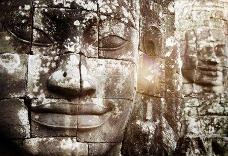 Buddha Faces, Angkor Thom