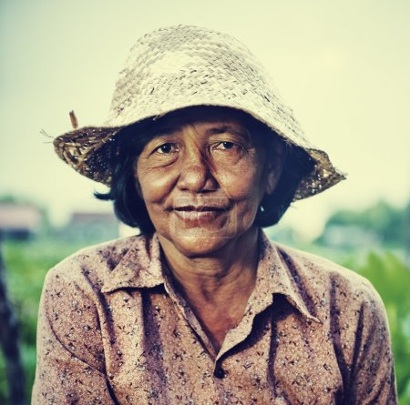 Local Female Farmer