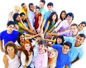 """Постер, картина, фотообои """"Молодые люди разнообразия вместе"""""""