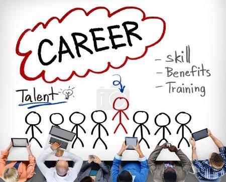 Career Talent Skill Concept