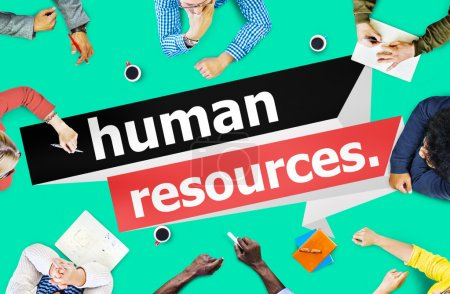 Group of Business People and Human Resources
