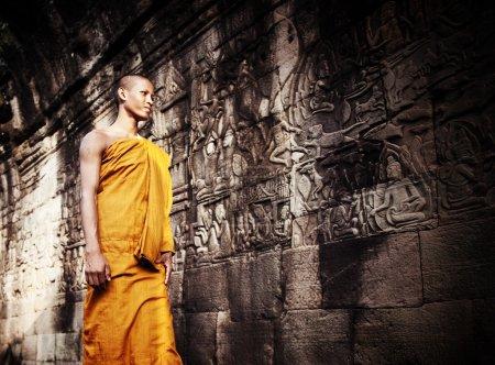Contemplating Monks, Angkor Wat
