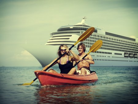 Kayaking Adventure, Couple Concept