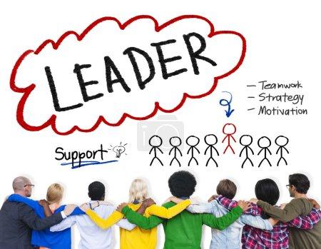 Leader Strategy Motivation Concept