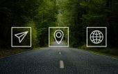 Poloha navigační ikony