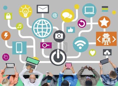 Connecting Social Media
