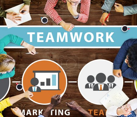 Group of Business People and Teamwork Team